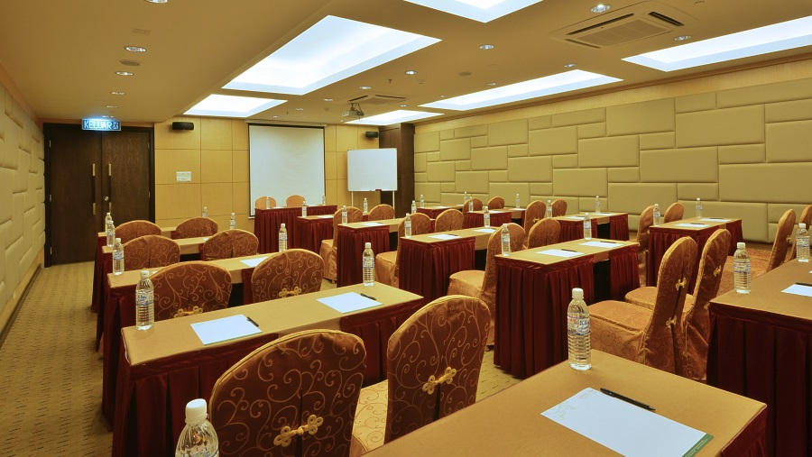 Function Room Classroom Style Lintas View Hotel